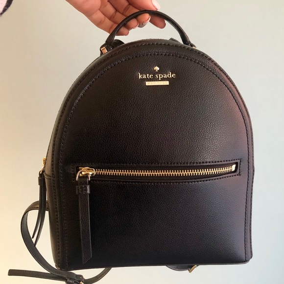23d32745c kate spade Bags | Sold Leather Backpack | Poshmark